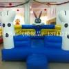 充气广场商场大型儿童城堡批发新款充气儿童乐园气垫滑滑梯
